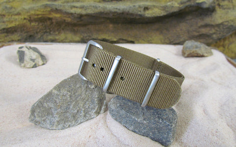 The Cadet Ballistic Nylon Strap w/ Brushed Hardware 22mm
