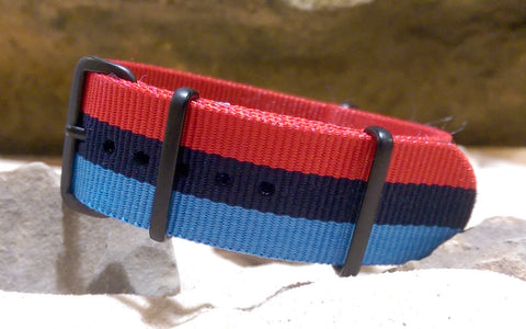 The M-Technik II Ballistic Nylon Strap w/ PVD Hardware 22mm