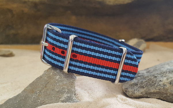 The Martini NATO Strap w/ Polished Hardware 20mm