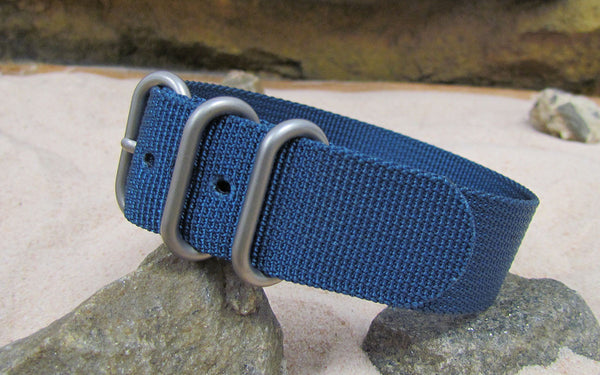 The Mediterranean Z3™ Ballistic Nylon Strap w/ Matte Hardware (Stitched) 18mm