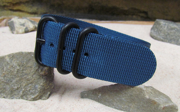 The Mediterranean Z3™ Ballistic Nylon Strap w/ PVD Hardware (Stitched) 26mm