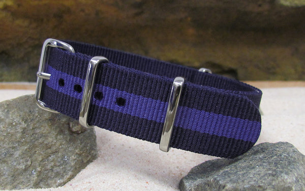 The Nightingale Ballistic Nylon Strap w/ Polished Hardware 18mm