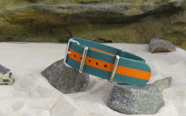 The Outback NATO Strap w/ Polished Hardware 20mm