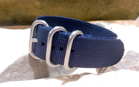 The Pacific Z3™ Ballistic Nylon Strap w/ Brushed Hardware (Stitched) 24mm
