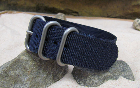 The Pacific Z3™ Nato Strap w/ Matte Hardware (Stitched) 24mm