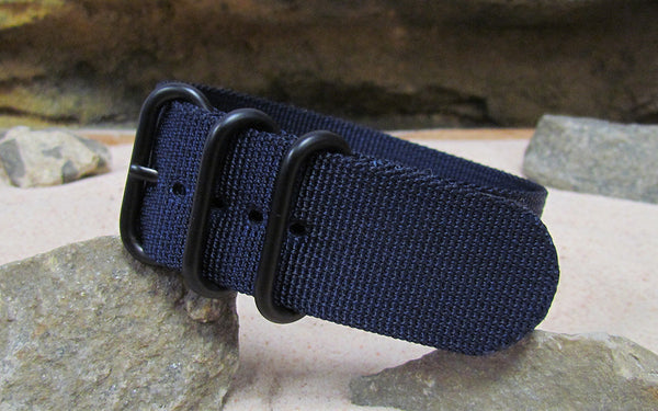 The Pacific Z3™ Nato Strap w/ PVD Hardware (Stitched) 26mm