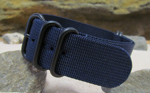 The Pacific XII Z5™ Ballistic Nylon Strap w/ PVD Hardware (Stitched) 24mm