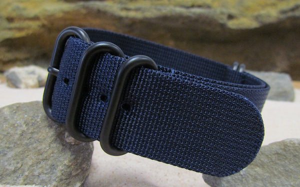 The Pacific Z5™ Nato Strap w/ PVD Hardware (Stitched) 24mm