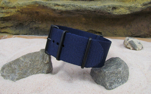 The Pacific Ballistic Nylon Strap w/ PVD Hardware 18mm