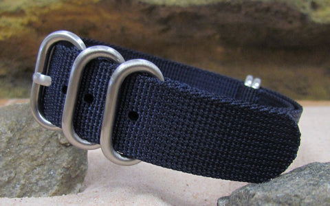 NEW - The Pacific XII Z5™ Ballistic Nylon Strap w/ Brushed Hardware (Stitched) 24mm