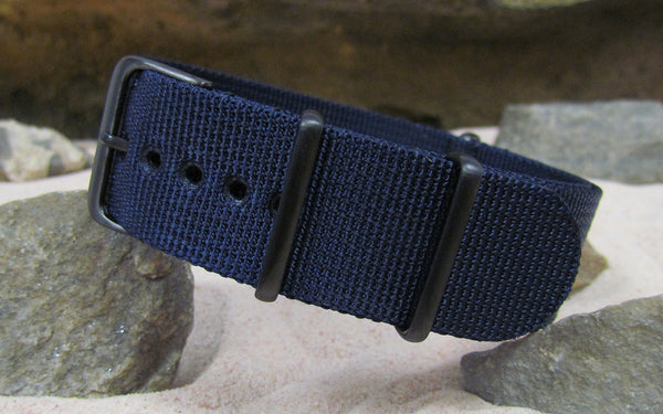 The Pacific XII NATO Strap w/ PVD Hardware (Stitched) 20mm
