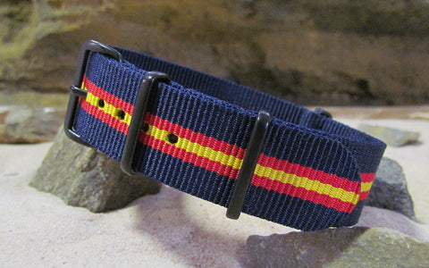The Phoenix NATO Strap w/ PVD Hardware (Stitched) 20mm