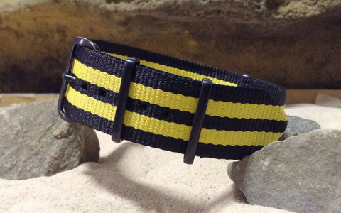 The Sunray XII NATO Strap w/ PVD Hardware (Stitched) 22mm