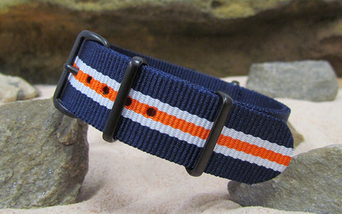 The Triton Ballistic Nylon Strap w/ PVD Hardware (Stitched) 18mm