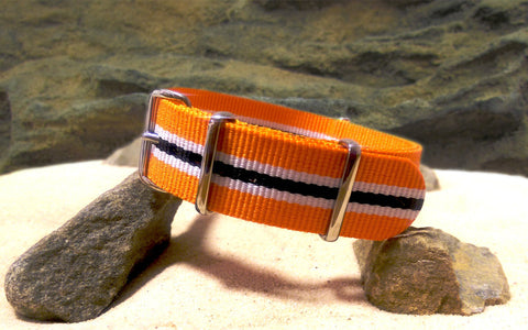 The Flare Ballistic Nylon Strap w/ Polished Hardware 20mm