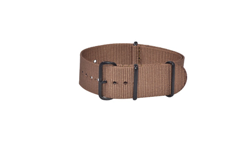 The Woodland Ballistic Nylon Strap w/ PVD Hardware 24mm