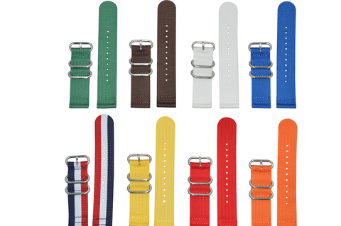 20mm Z3 Two-Piece Ballistic Nylon Strap with Brushed Hardware Bundle