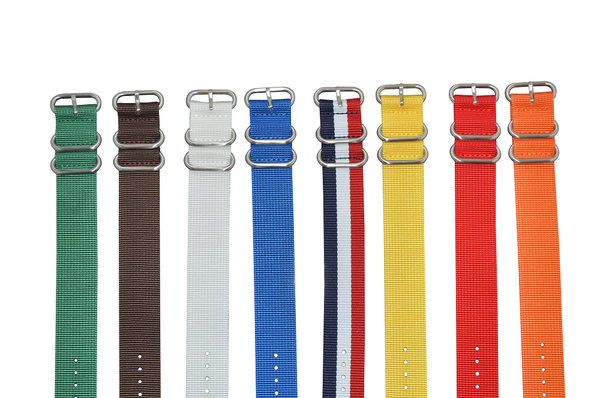 26mm Z3 Ballistic Nylon Strap with Brushed Hardware Bundle