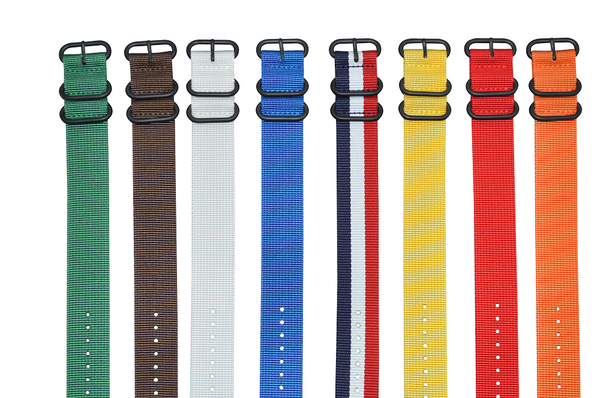 26mm Z3 Ballistic Nylon Strap with PVD Hardware Bundle
