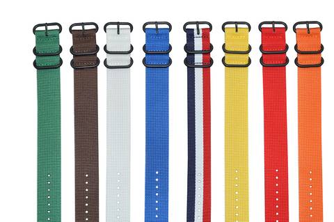22mm Z3 Ballistic Nylon Strap with PVD Hardware Bundle