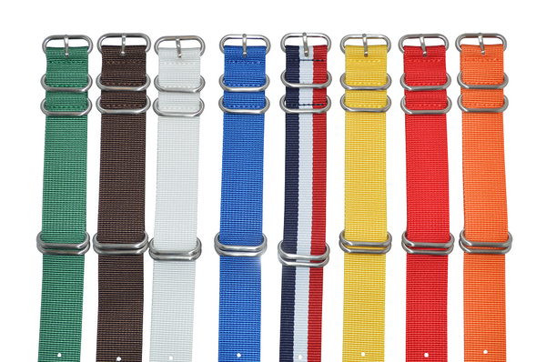 24mm Z5 Ballistic Nylon Strap with Brushed Hardware Bundle