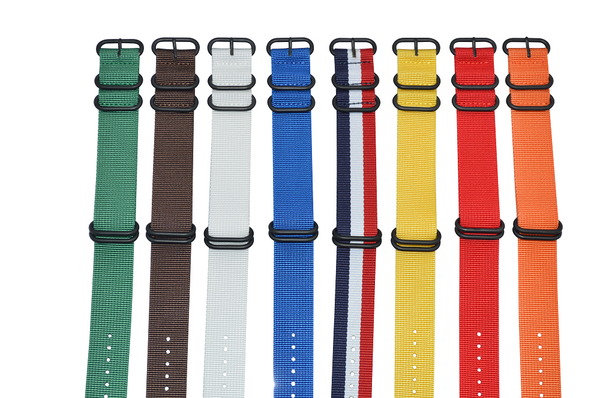 22mm Z5 Ballistic Nylon Strap with PVD Hardware Bundle
