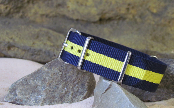 The SEAL Nato Strap w/ Polished Hardware 18mm