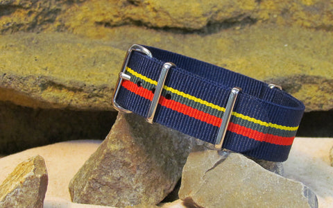 The Captain NATO Strap w/ Polished Hardware 22mm