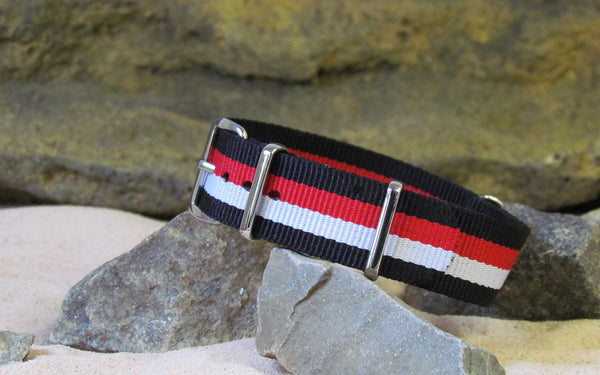 The Condor Nato Strap w/ Polished Hardware 18mm