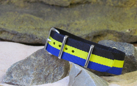 The Espy NATO Strap w/ Polished Hardware 22mm