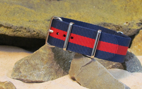 The GQ NATO Strap w/ Polished Hardware 18mm