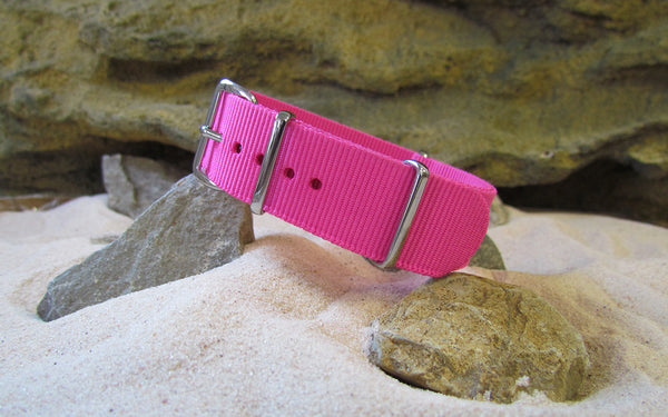 The Rave Ballistic Nylon Strap w/ Polished Hardware 20mm