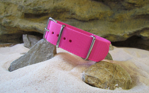The Rave Nato Strap w/ Polished Hardware 18mm