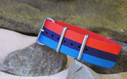 The M-Technik XII NATO Strap w/ Matte Hardware (Stitched) 18mm