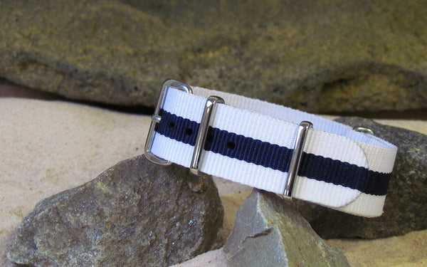 The Mariner Ballistic Nylon Strap w/ Polished Hardware 20mm