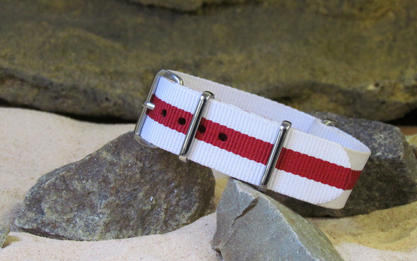 The Mariner II NATO Strap w/ Polished Hardware 20mm