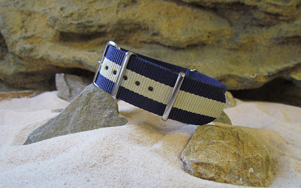 The Oasis Ballistic Nylon Strap w/ Polished Hardware 22mm