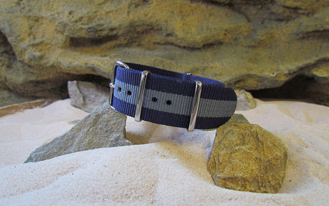 The Tundra NATO Strap w/ Polished Hardware 22mm