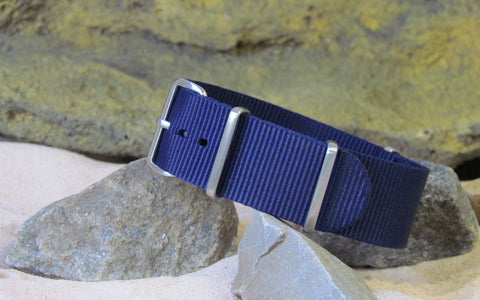 The Pacific Ballistic Nylon Strap w/ Brushed Hardware (Stitched) 18mm