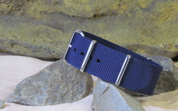 The Pacific Nato Strap w/ Polished Hardware 18mm