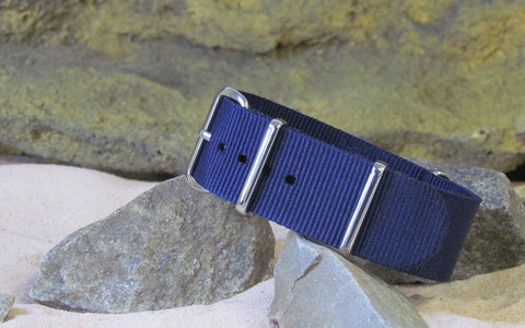 The Pacific Ballistic Nylon Strap w/ Polished Hardware 18mm