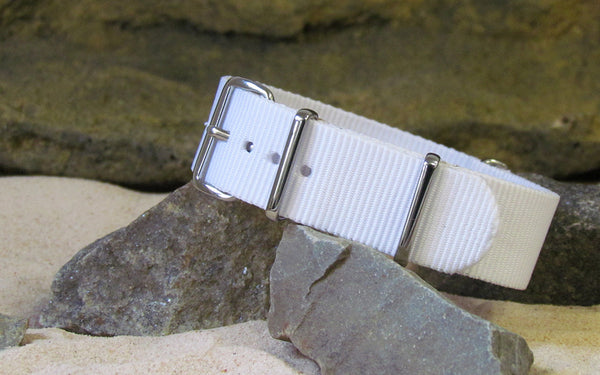 The Paranormal Ballistic Nylon Strap w/ Polished Hardware 18mm
