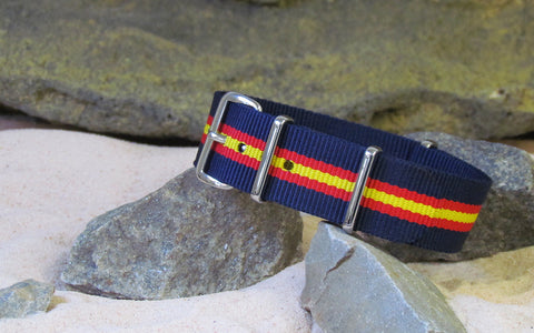 The Phoenix Ballistic Nylon Strap w/ Polished Hardware 20mm