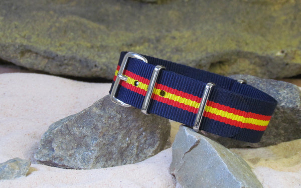 The Phoenix Nato Strap w/ Polished Hardware 18mm