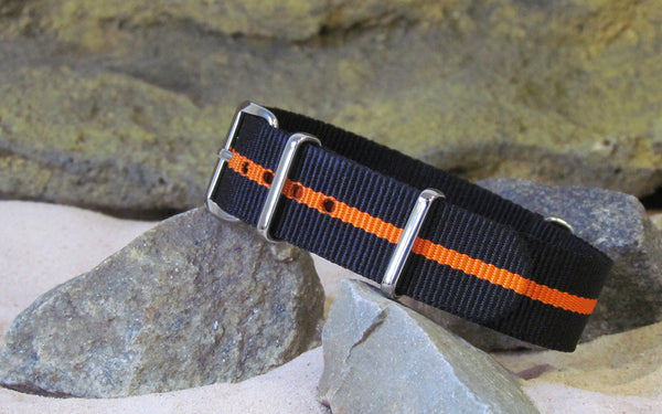 The Racer X Nato Strap w/ Polished Hardware 18mm