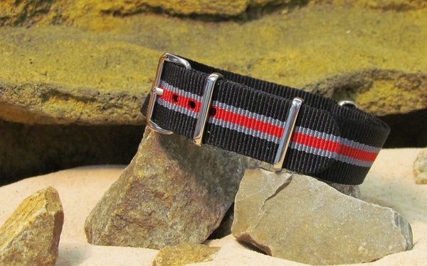 The Raptor NATO Strap w/ Polished Hardware 20mm