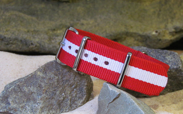 The Rescuer NATO Strap w/ Polished Hardware 20mm