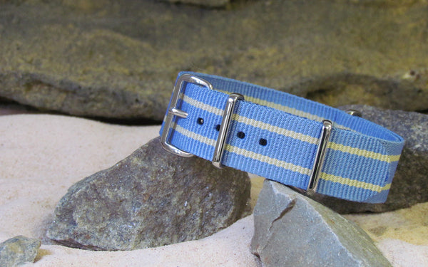 The Sparrow NATO Strap w/ Polished Hardware 22mm