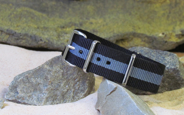 The Storm NATO Strap w/ Polished Hardware 20mm ONLY