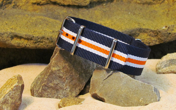 The Triton Ballistic Nylon Strap w/ Polished Hardware 18mm